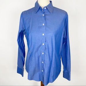 EDDIE BAUER Wrinkle Resistant Button Up Shirt